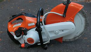 """Stihl TS 420 14"""" Gas Cut Off Saw & Makita AVT Hammer Drill both for $800 obo for Sale in Grove City, OH"""