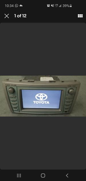 Toyota camry 2007-2011 radio gps for Sale in Orlando, FL