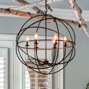 Light Statement Globe Chandelier for Sale in Los Angeles, CA
