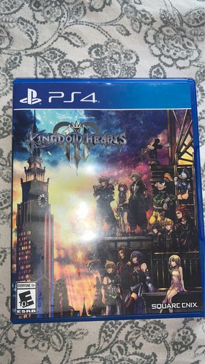 Kingdom Hearts 3 PS4 for Sale in Kenneth City, FL