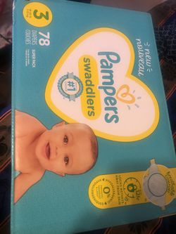 Size 3 pampers Diapers  for Sale in Bellflower, CA
