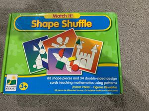 Shape shuffle puzzles for kids for Sale in Alexandria, VA
