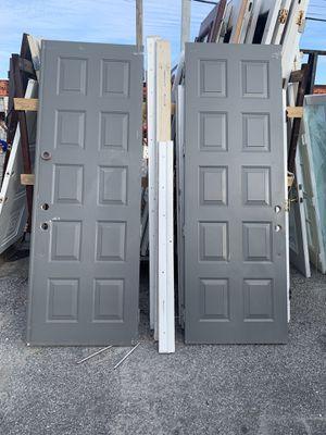 Exterior door front door with frame for Sale in Tamarac, FL