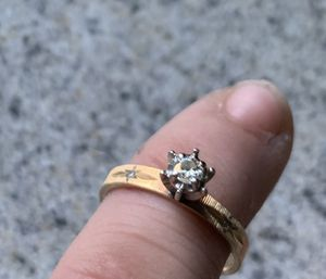 14kt gold engagement ring for Sale in Naugatuck, CT