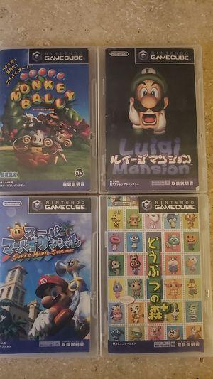 4 Japanese nintendo gamecube Games for Sale in Hazard, CA