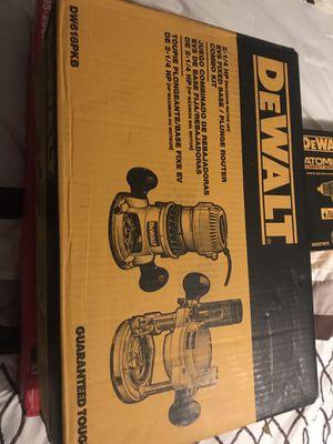 Dewalt Router Kit for Sale in Fort Worth, TX