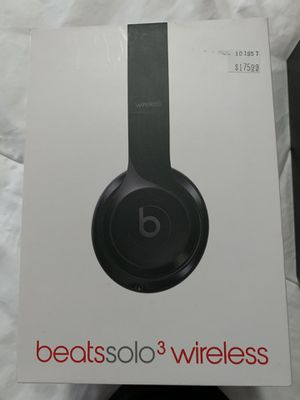 Beats Solo3's New Open Box Authentic with W1 chip See Pics $95 for Sale in Corona, CA