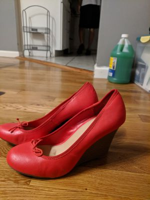 Red High Heels Size 9 for Sale in Arnold, MO