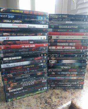 50 Horror Dvd Movies for Sale in Tempe, AZ