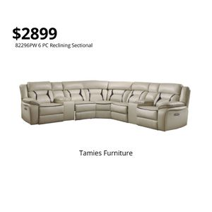 6 PC Sectional Sofa for Sale in Orlando, FL