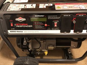 Brand new generator never used I pay 1050 I want 795 for Sale in Durham, NC