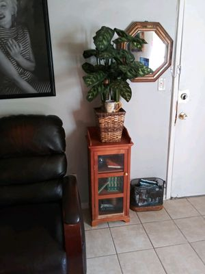 Small wood glass shelf for Sale in Fort Worth, TX