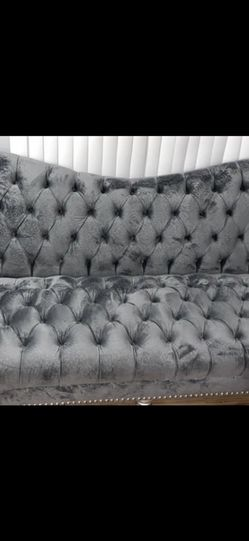 Belle Gray Sofas Set for Sale in Sterling Heights,  MI