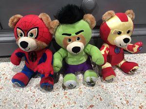Avenger teddy bears for Sale in Cutler Bay, FL
