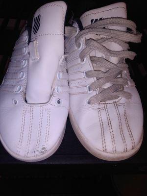K-swiss boy shoes size 1 1/2 for Sale in Bakersfield, CA
