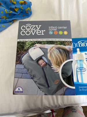 Cozy cover for car seat for Sale in Salinas, CA