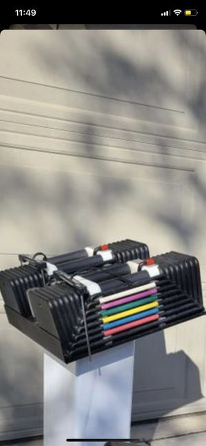 Powerblock 5-85 with stand for Sale in Lathrop, CA