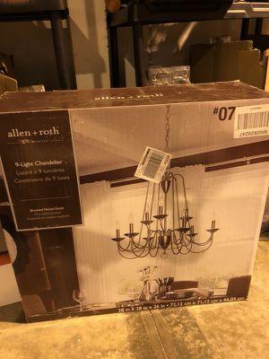 9 light chandelier for Sale in Greenville, SC