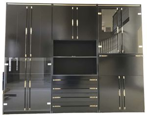 Italian Black Lacquer Wall Unit for Sale in Cerritos, CA