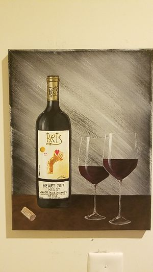 Kris Wine Painting for Sale in Reston, VA