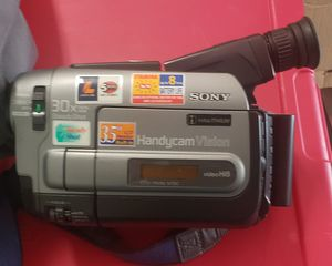 Sony Camcorder & Bag for Sale in Austin, TX