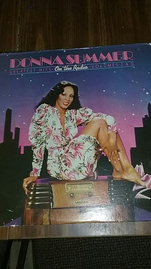 Disco lp collection 7 lps +2 45s with poster for Sale in Hialeah, FL