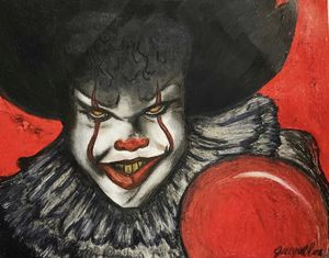 Pennywise Artwork 11x14 Copy for Sale in San Antonio, TX