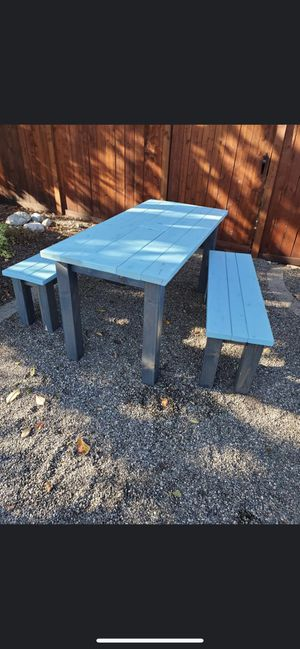 Outdoor Table and Benches for Sale in Oak Harbor, WA