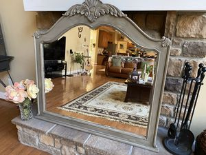 Refinished Vintage Beveled Mirror for Sale in Furlong, PA