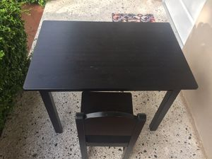 Wooden Table & Chair for kids for Sale in Miami, FL