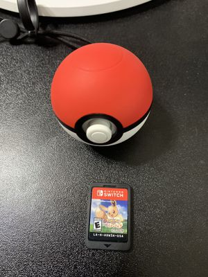 Pokemon Lets go Eevee & Pokeball w/ Mew for Sale in Alvarado, TX