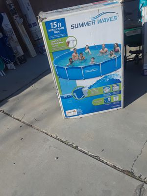 Summer waves pool for Sale in Lancaster, CA