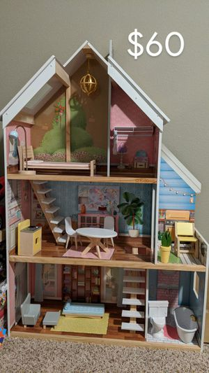 Doll house, plush toys and much more - moving out sale for Sale in Frisco, TX