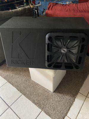 Kicker L7 12 works perfect is 1500 Watt for Sale in Hyattsville, MD