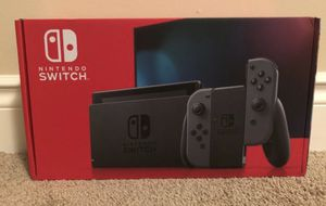 NEW Nintendo Switch Console Gray Joy Con UNOPENED IN HAND for Sale in Zelienople, PA