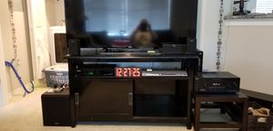 Pottery Barn TV stand for Sale in Tampa, FL