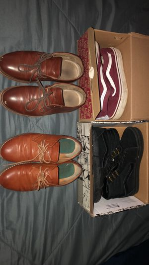 Boys Vans and Dress Shoes Sz 3/4 for Sale in Orlando, FL