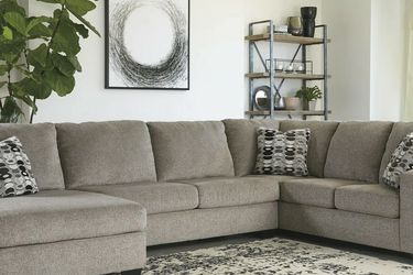 💥Same Day Delivery💥[SPECIAL] Ballinasloe Platinum LAF Sectional by Ashley for Sale in Mount Rainier,  MD