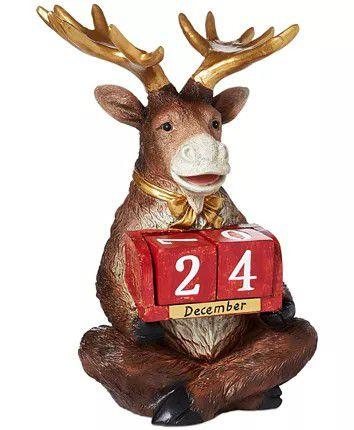 Holiday Lane Reindeer Countdown