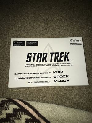 Star Trek action figure collectibles for Sale in Rosenberg, TX