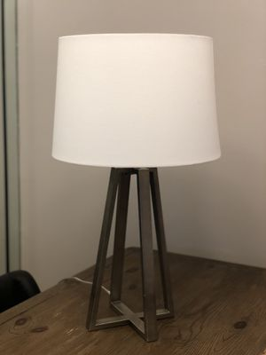 Hardly used nice lamp with shade. for Sale in Fort Lauderdale, FL