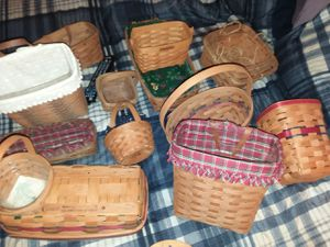 15 Longaberger baskets for Sale in Groveport, OH
