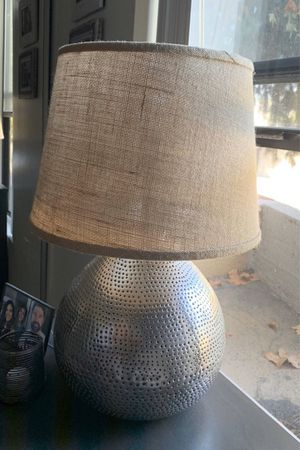 World market industrial table lamp for Sale in Los Angeles, CA