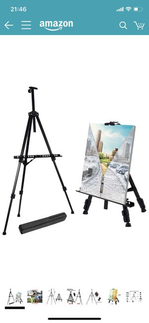 Folding Tripod Display Easel Stand With Bag for Sale in Minneapolis, MN