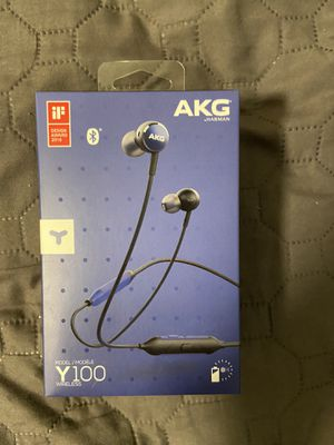 AKG wireless headphones never used still in box for Sale in ARROWHED FARM, CA