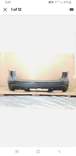 2018 2019 FORD EXPLORER PLATINUM REAR BUMPER COVER OEM for Sale in Auburn, WA