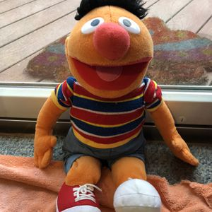 Ernie Collectible Stuffed Toy for Sale in Alexandria, VA