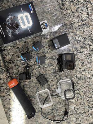 GoPro Hero 8 Black w/ accessories for Sale in Las Vegas, NV