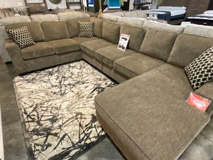 Sectional Sofa with Storage Area, Brown for Sale in Downey, CA