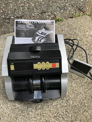 GStar money counter + Counterfeit Bill Detection for Sale in Shoreline, WA